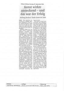 Ahlen Zeitung 20150926