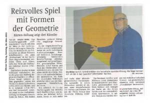 Tageszeitung 20150322 2
