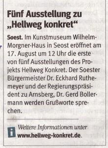 Westfalenpost 20140815